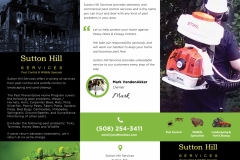 Sutton Hill Services Brochure (ouside)