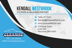Cleanse Business Card