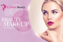 E-Mula Beauty Business Card Front