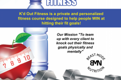 Kd Out Fitness Flyer