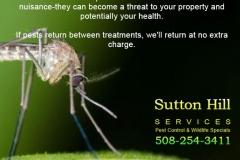 Sutton Hill Services Mosquito & Tick Ad