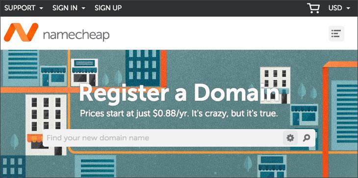 Namecheap, domain name registrar